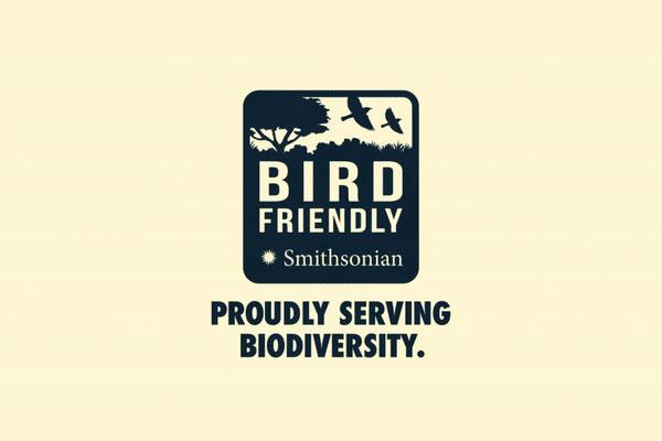 Bird Friendly Coffee Smithsonian logo